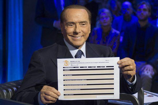 意大利前总理西尔维奥·贝卢斯科尼宣布参加2018总统大选