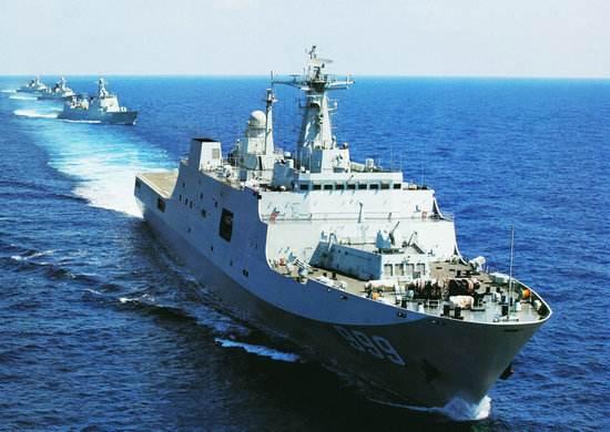 简氏:中国海军第6艘071型船坞登陆舰下水