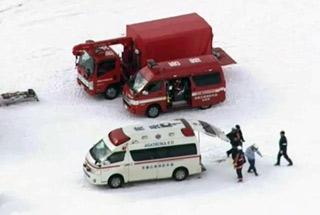 日本火山喷发致滑雪场雪崩 陆上自卫队员1死7伤