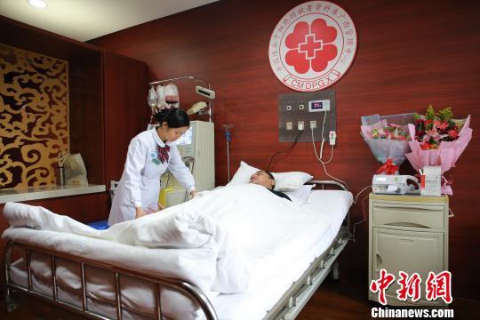 广西辅警捐献造血干细胞 父母支持全程陪伴
