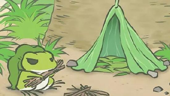 """人民日报评论:别做一只孤独的""""旅行青蛙"""""""