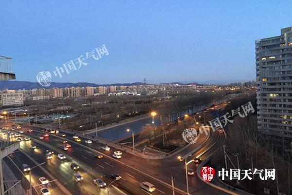今日北京最高气温将降至-5℃  度过今冬最冷一天