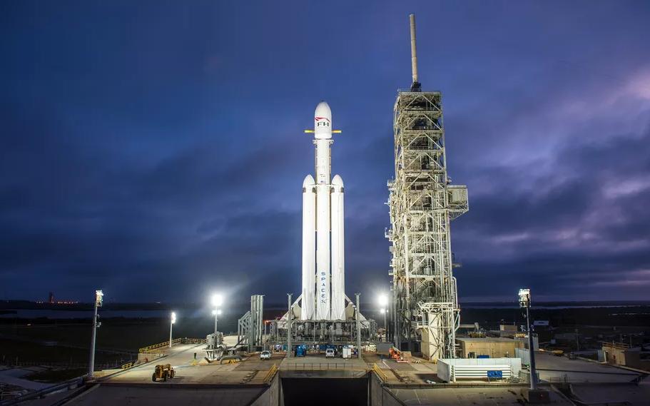 因政府人员休假 猎鹰重型火箭发射再延迟