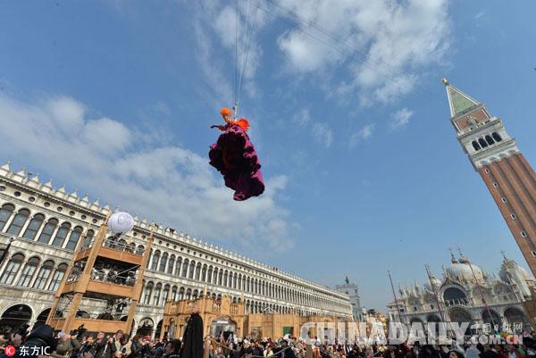 """英媒:威尼斯狂欢节将至 宰客餐厅""""先行一步"""""""