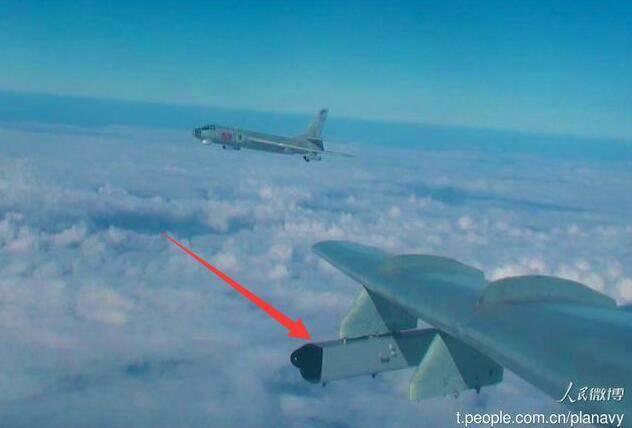 中国电子战轰6高调公开亮相 作战半径覆盖整个南海