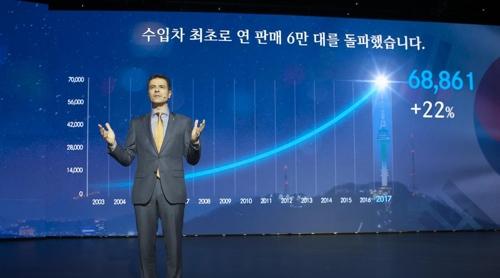 豪华车需求旺盛 奔驰预计2018在韩销量强势增长