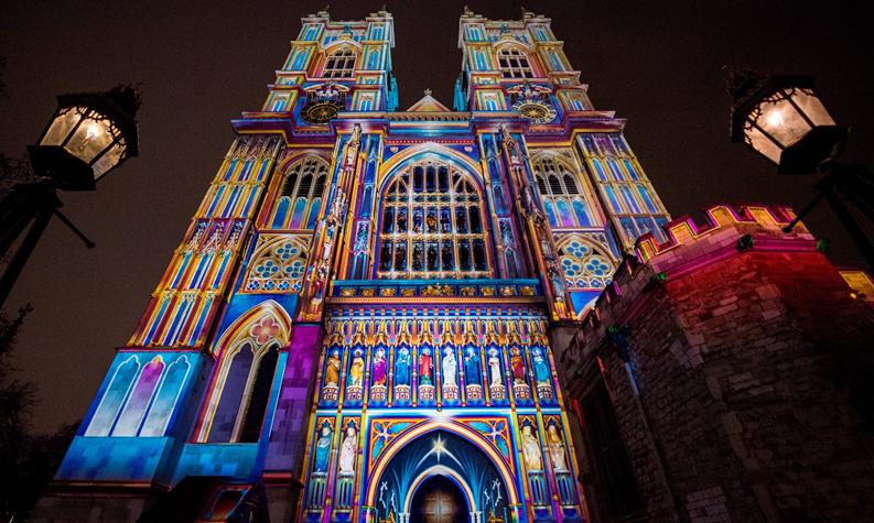卢米埃尔伦敦灯光节,光影变换的艺术