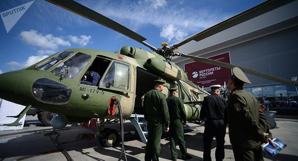 俄媒:俄印将签署48架米17合同 金额高达11亿美元