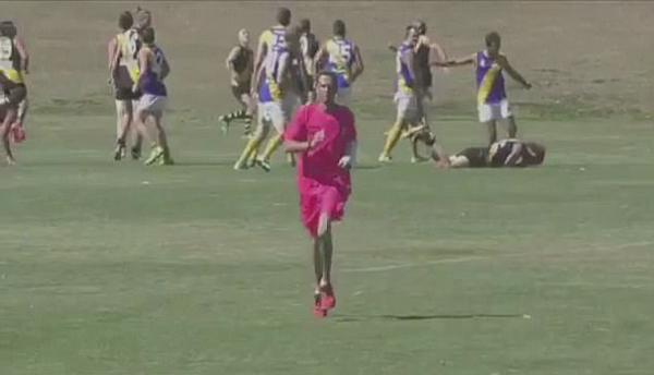 澳业余橄榄球运动员攻击对手头部遭20年禁赛