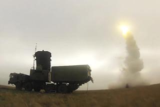 S400导弹在叙亮剑 中国引进后将成反导网新血液