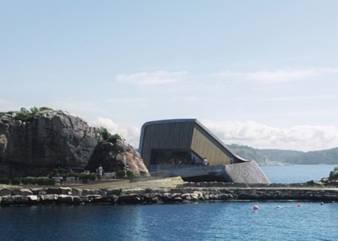 挪威将建欧洲首个海底餐厅 或可容纳千人