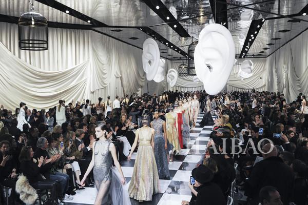 身临其境的感受,Christian Dior 2018秀场