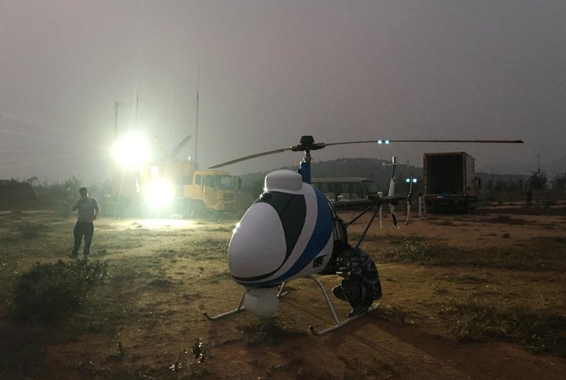 南方电网研发全球首台卫星通信大型无人机巡检系统