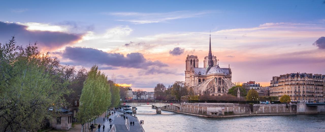 巴黎建筑风景,让我的思绪飘向远方