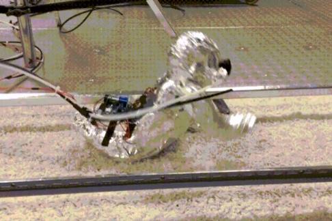 锡纸包裹 机器人可帮助了解婴儿吸入颗粒物
