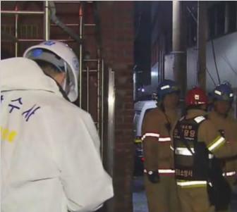韩国首尔一旅馆疑遭泼汽油纵火 致6死5伤