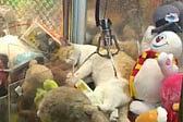 能叫醒算我输!机智猫咪躲抓娃娃机中睡大觉
