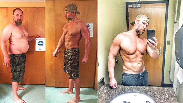 美国胖老爹健身减肥 年轻20岁变肌肉男神