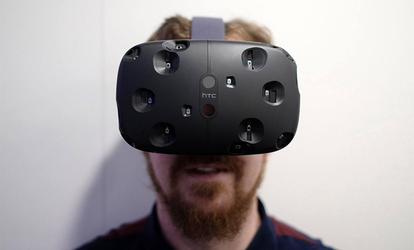 为寻觅新商机!HTC Vive头盔或增添众多新功能