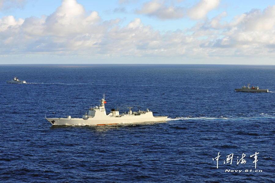 国防部证实中国海军将参加2018环太平洋军演