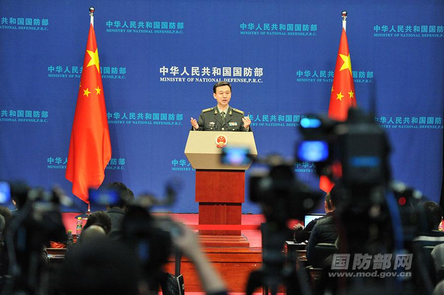 """国防部回应""""武统"""":决不允许台湾从祖国分裂出去"""