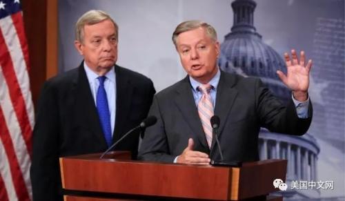 德宾、格雷厄姆等提出的两党法案遭特朗普反对