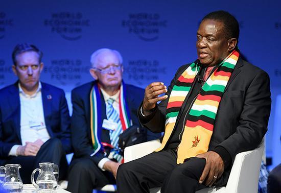 津巴布韦总统谈后穆加贝时代:准备加入英联邦