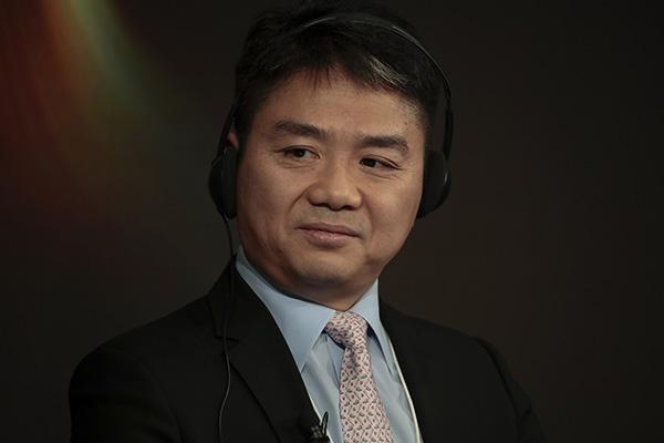 刘强东达沃斯开讲:4年后京东将成国内电商第一