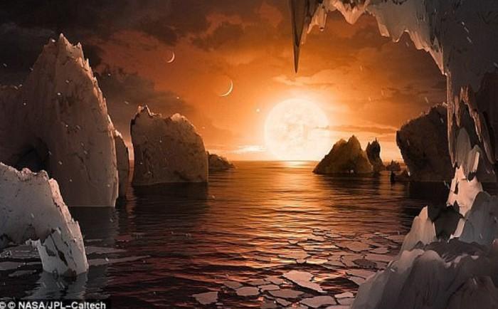 科学家发现两颗类地行星 水、温度适合生命存在