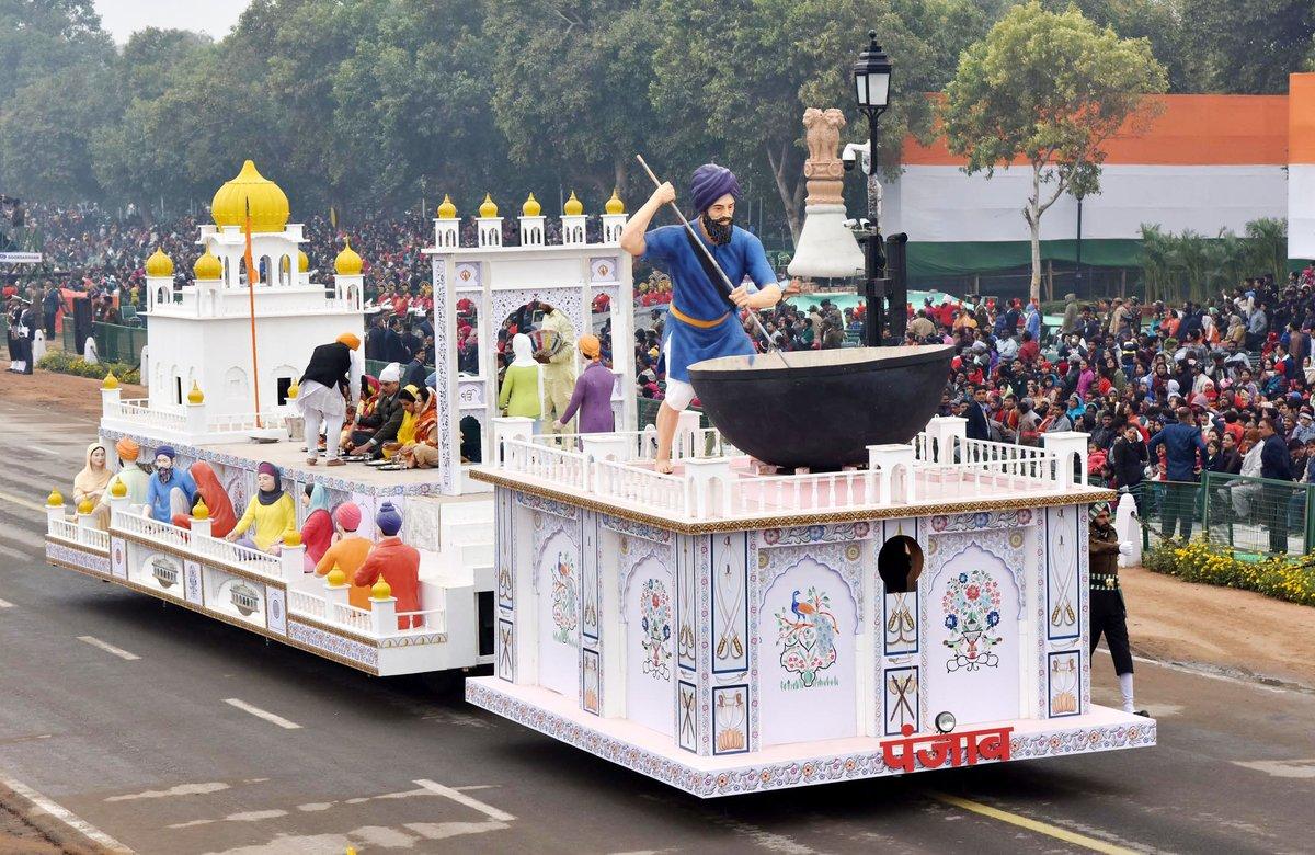 花式杂耍抢先看!印度国庆阅兵还是一样的味道
