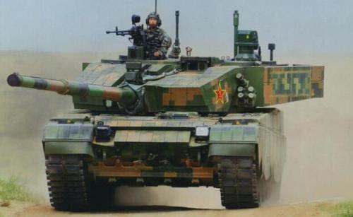 美媒对比中美俄三大主战坦克 99式火力机动占优