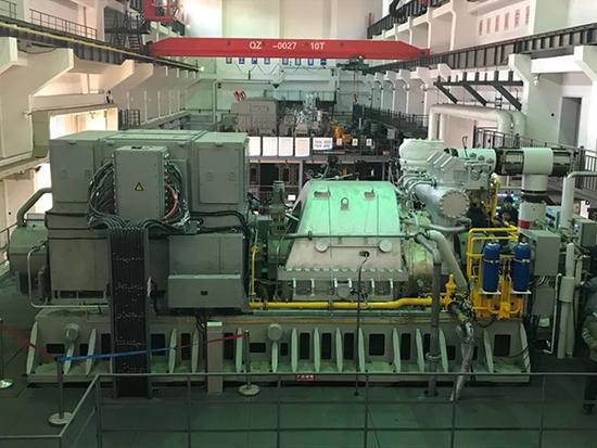 国内船用汽轮发电机组跨入20MW级:拥有完全知识产权