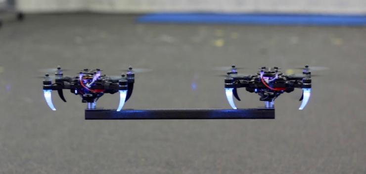 仓库自动化的未来靠什么?当然是组团运货的微型无人机