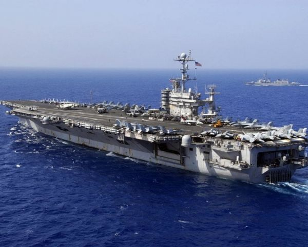 美国航母可能3月访越南岘港 将是越战后首次