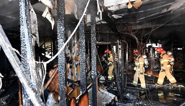韩国密阳一医院火灾死亡人数升至37人