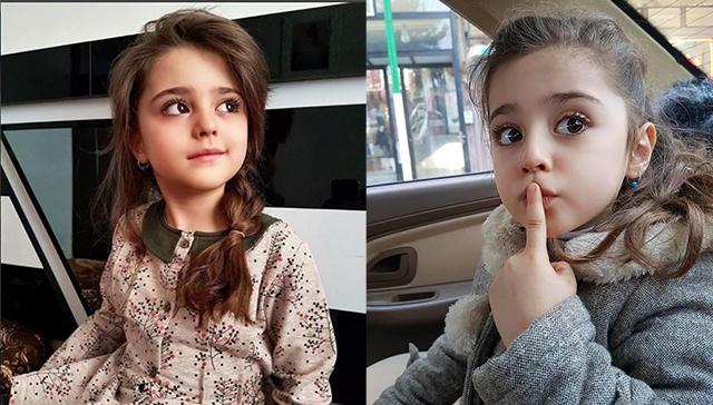 8岁世界最美女孩走路都能收到花