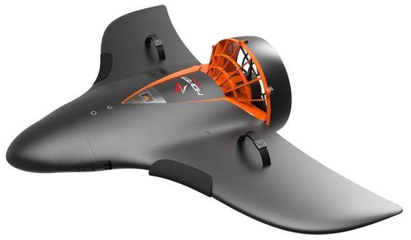 AquaJet H2可以另外用于在水面周围运送用户,如果需要的话甚至可以用作漂浮装置。  AquaJet H2早鸟价为799美元 - 当然,与众筹项目一样,也不能保证能实现产量。