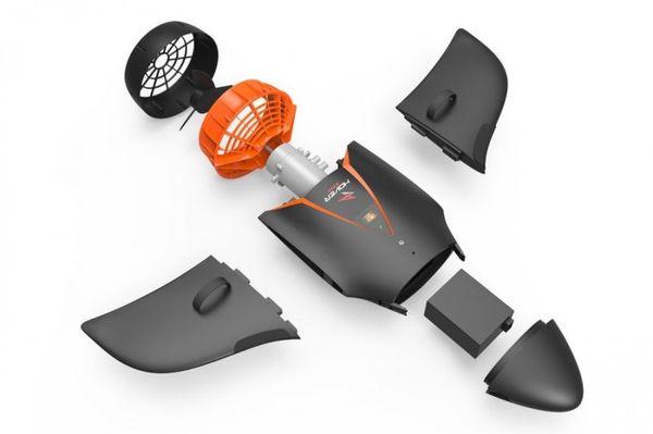 """水底""""飞机""""!AquaJet H2发明新型水底推进工具"""