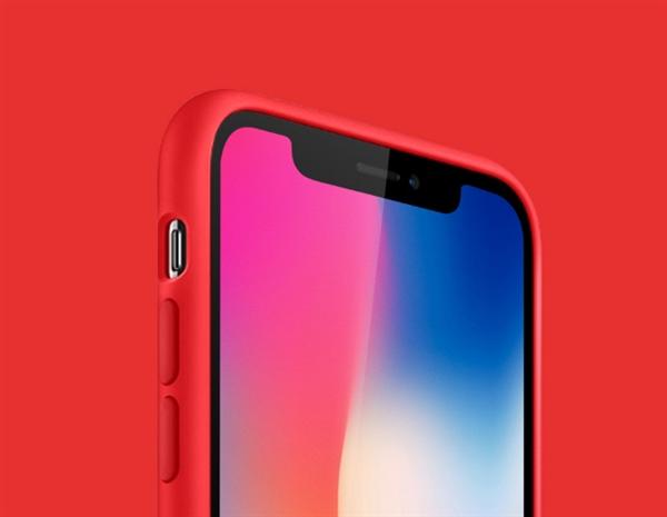 69元!有品上架iPhone X液态硅胶保护壳:五色可选