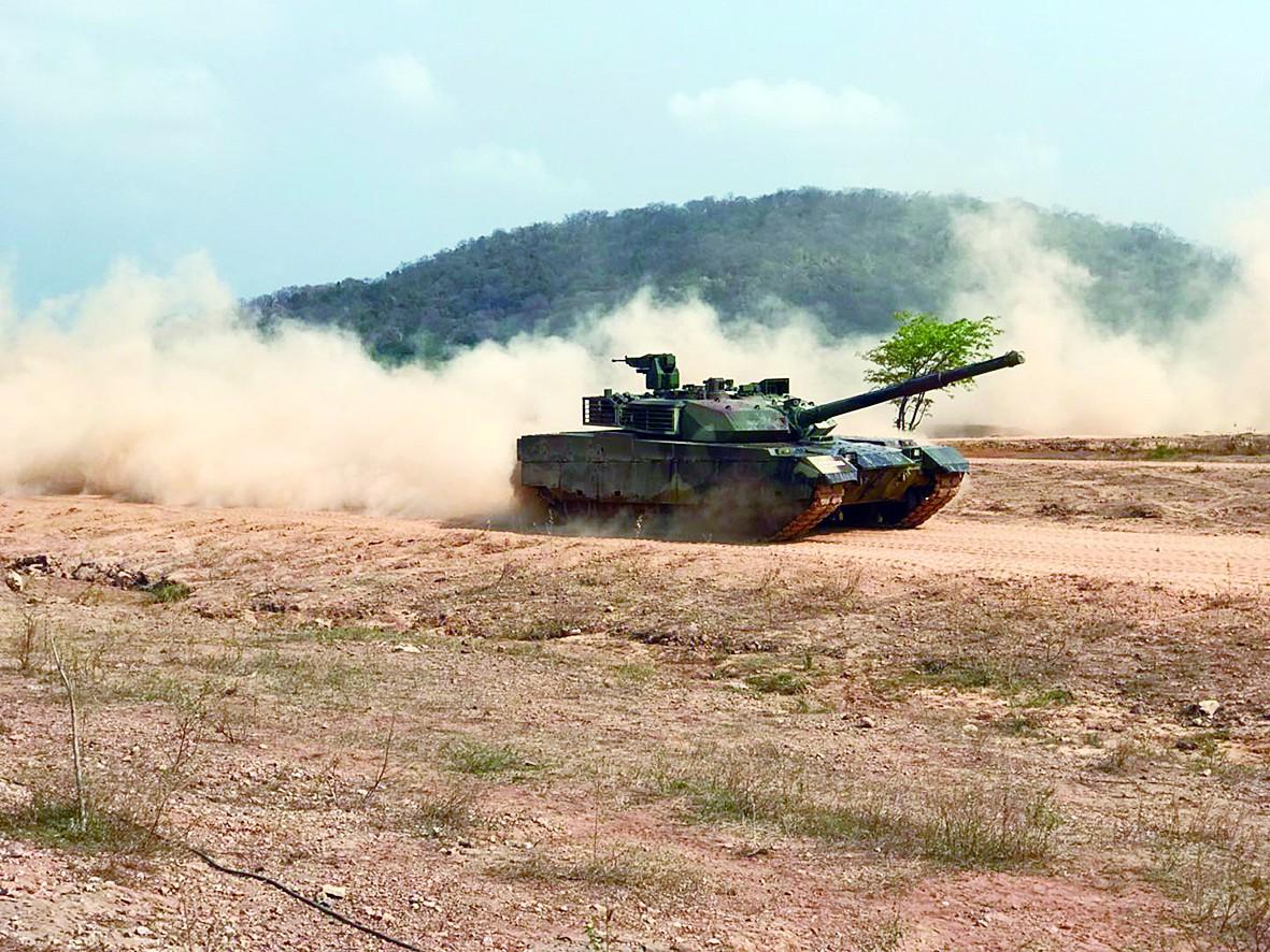 """泰军方一月两次""""炫耀""""VT4坦克 高度评价其性能"""