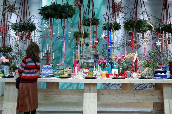 法兰克福举办国际圣诞礼品展览会