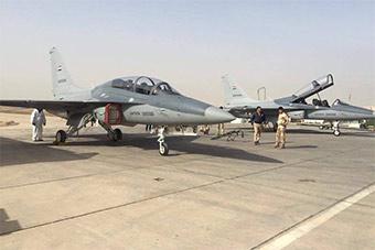 伊拉克空军T50教练机罕见亮相