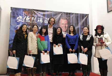 著名小提琴家安德烈瑞欧为中国粉丝送新年好礼