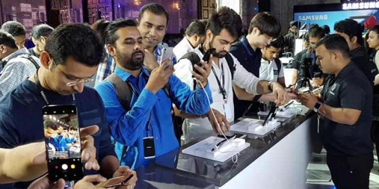 小米取代三星成为印度最畅销的智能手机品牌