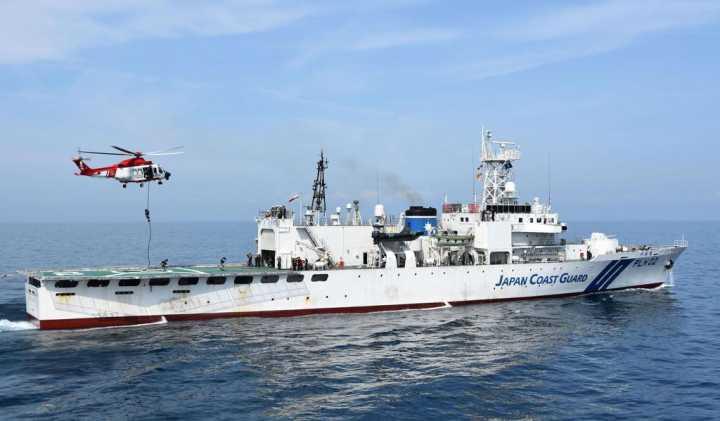 日本与马来西亚在南海举行联合演习