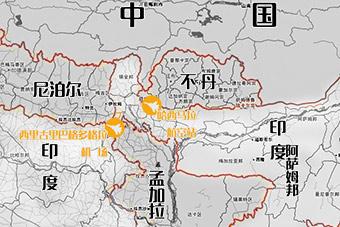 外媒曝光印度最靠近中国空军基地部署情况