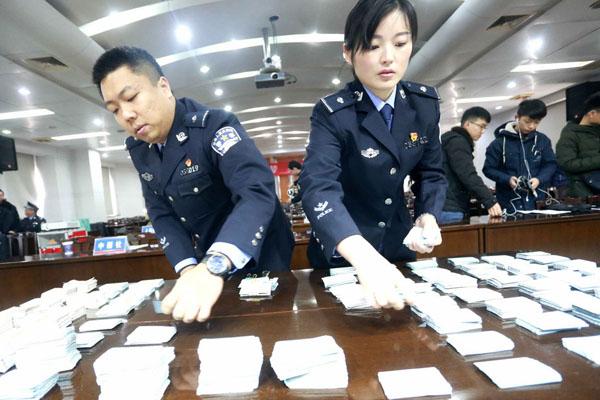 郑铁警方打掉一起特大制贩假火车票案查获假车票1.6万余张