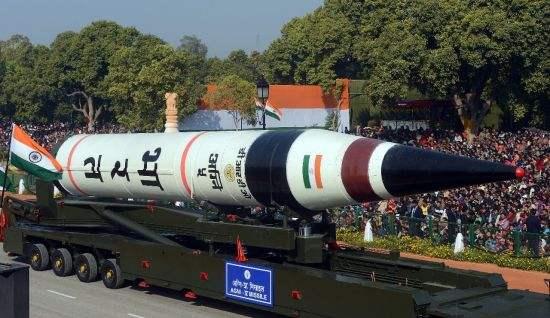 """印度""""烈火5""""导弹全球最准?认真你就输了!"""
