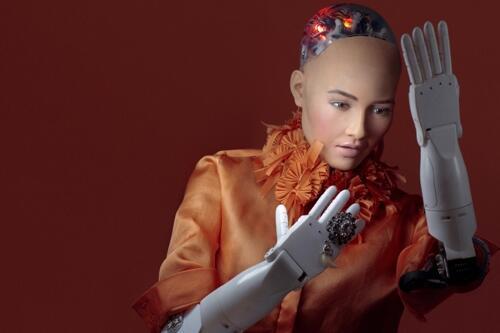 厉害了!AI机器人索菲亚将在韩国发表演讲