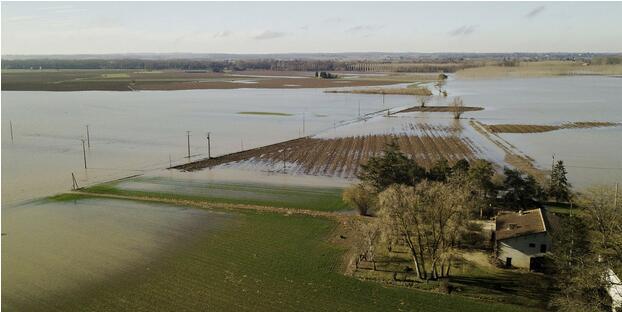 研究:由于气候变暖 欧洲遭遇水灾的风险增加